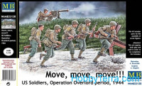 U.S. soldiers, Operation Overlord period, 1944