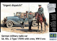 Urgent Dispatch German military radio car Sd. Kfz. 2 Type 170VK