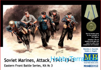 Soviet marines, Attack, 1941-1942. Eastern Front, kit 3