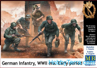German infantry, WWII era, early period