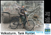 Volkssturm. Tank Hunter, 1944-1945