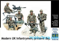 Modern UK infantrymen, present day