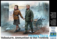 Volkssturm. Ammunition to the Frontline
