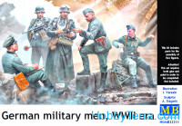 German military men, WWII era