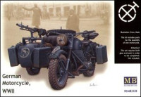 WWII German motorcycle BMW R75