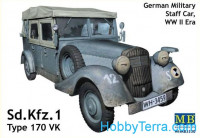 Sd.Kfz.1 Type 170 VK, German staff car