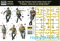 Master Box  3570 German military men, WW II era""