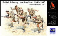 British Infantry, North Africa, 1941-1943. Desert Battles. Kit 2