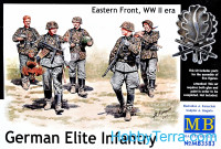 German Elite infantry, Eastern Front, WWII