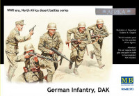 German infantry, DAK. North Africa desert battles series