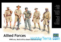 Allied Forces. North Africa desert battles series