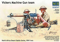 Vickers machine-gun crew, Desert battles series