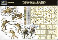 Master Box  3597 Vickers machine-gun crew, Desert battles series