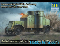 Austin Mk.III British armored car, 1914-1918