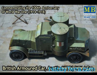 Austin Mk.IV British armored car, 1914-1918