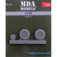 Wheels set 1/48 for Ju-88