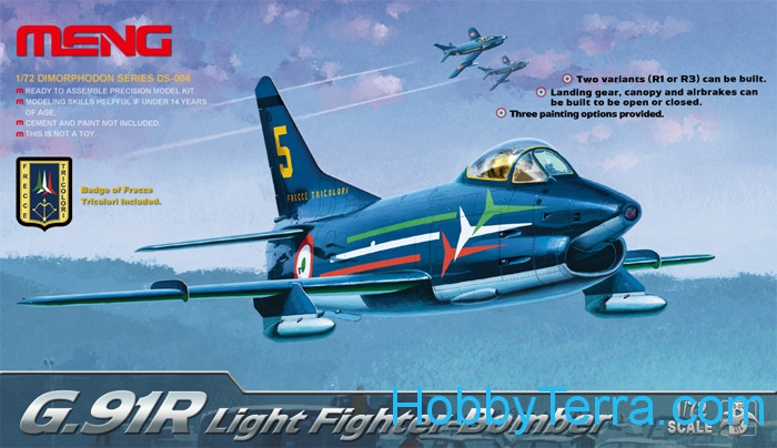 Meng  DS004 G.91R Light fighter-bomber