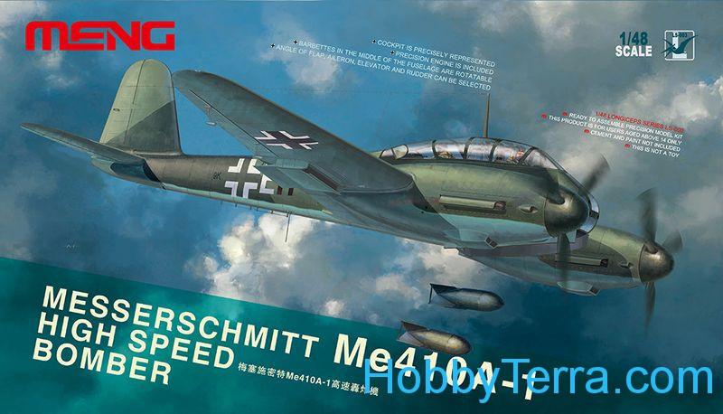 Messerschmitt Me410A-1 hight speed bomber