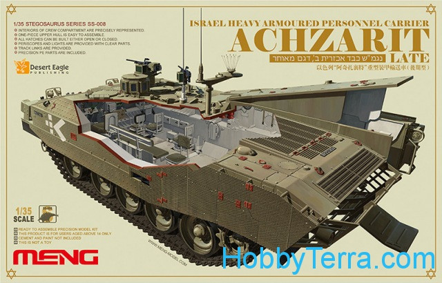 "Israel hevy armored personnel carrier ""Achzarit"", late"