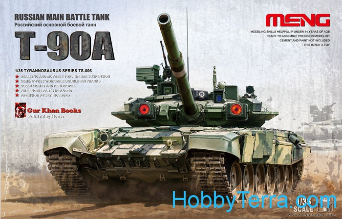 Russia Main Battle Tank T-90A