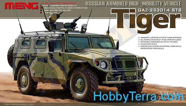 "Russian armored highmobility vehicle GAZ-233014 STS ""Tiger"""