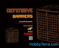 Defensive barriers for dioramas