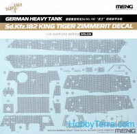 Decal for German heavy tank Sd.Kfz.182 King Tiger