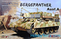 German armored recovery vehicle Sd.Kfz.179 Bergepanther Ausf.A
