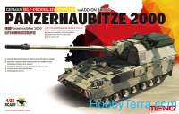 German Panzerhaubitze 2000 self-propeled howitzer w/Add-On armor