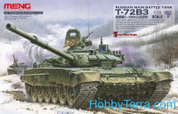 Russian main battle tank T-72B3