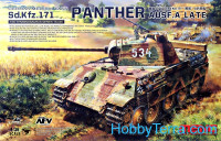 German medium tank Sd.Kfz.171 Panther Ausf.A, Late