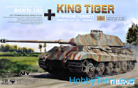 German heavy tank Sd.Kfz.182 King Tiger (Porsche Turret)
