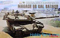 Israel main battle tank Magach 6B GAL BATASH