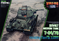 Soviet medium tank T-34/76 (World War Toons series)