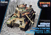 German medium tank Pz.Kpfw.V Panther (World War Toons series)