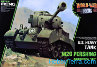 US heavy tank M26 Pershing (World War Toons series)