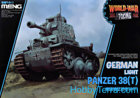 German light tank Panzer 38 (t) (World War Toons series)