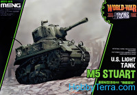 US light tank M5 Stuart (World War Toons series)