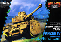 German medium tank Panzer IV (World War Toons series)