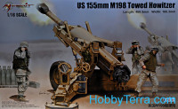 U.S. 155mm M198 towed howitzer