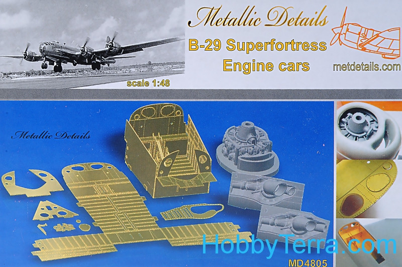 B-29 Superfortress Engine cars