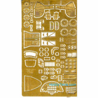 Photo-etched set for Polikarpov I-185 (from ARK Models)
