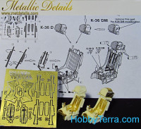 Photo-etched set 1/48 ejection seat K-36D/DM