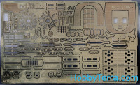 Photo-etched set 1/48 C-45 Expeditor, for ICM kit