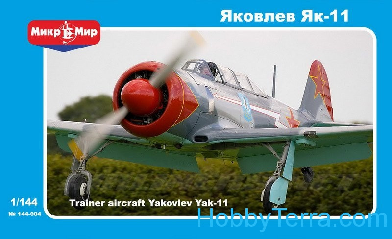 Micro-Mir  144-004 Yak-11 Soviet training aircraft