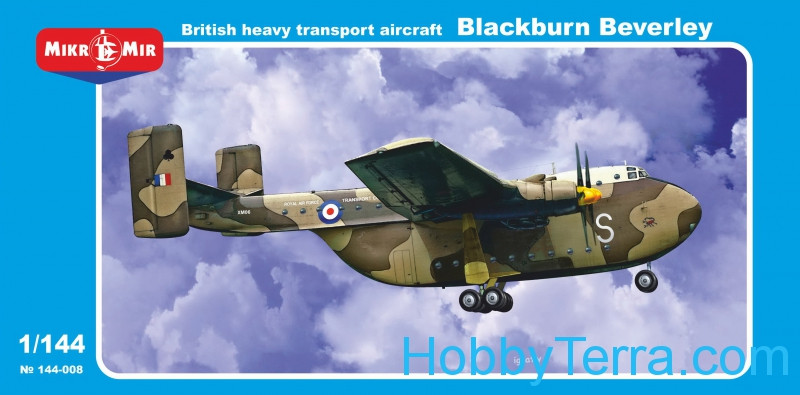 "Micro-Mir  144-008 British heavy transport aircraft ""Blackburn Beverley"""