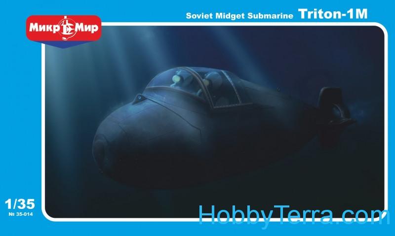 Midget russian submarine triton should