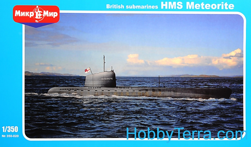 British submarines HMS Meteorite