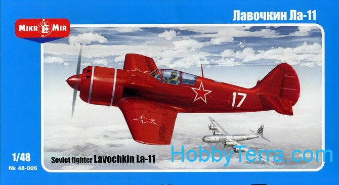 Lavochkin La-11 Soviet fighter