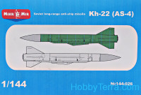 Soviet long-range anti-ship missile Kh-22 (AS-4)